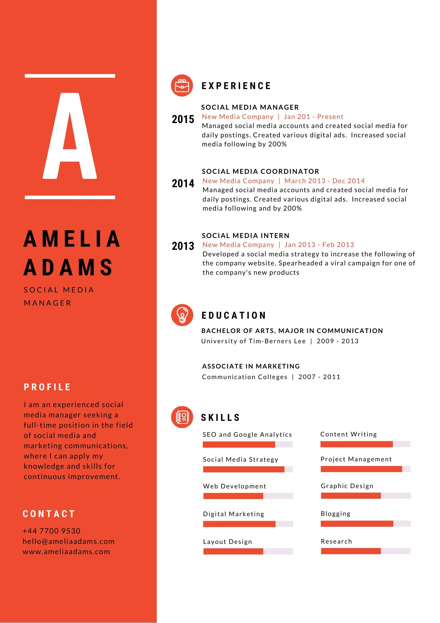 how to make a resume for job