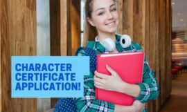 Character Certificate Application | Request Letter | Download Samples & Formats